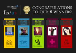 LiveCitizen Fix*us winners