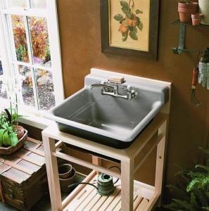 ... Utility Sink Kitchen Bathroom Shop Utility Sinks Stand Kitchen Sink