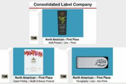 TLMI First Place Awards for Custom Labels
