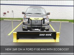 Wisconsin Based SNO-WAY is the Only Snow Plow Tested and ...