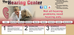 hearing aids in Fort Collins - The Hearing Center, Inc. website