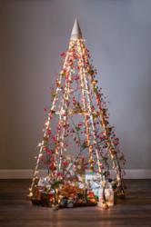 Modern Christmas tree.