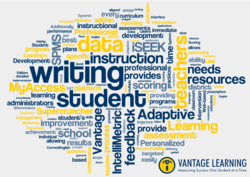 Vantage Learning creates Adaptive Learning Environments to foster meaningful interactions between students, parents and teachers. By reconnecting assessment and learning, our solutions support student achievement and school improvement.