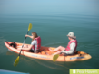 Couples stay active kayaking