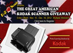 high speed scanners,Kodak high speed scanners,high volume scanners,photographic equipment,high speed photo archiving,high speed archiving,Kodak volume scanning,Kodak scanner giveaway contest