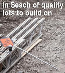 builders need access to purchase quality lot in order to build new homes