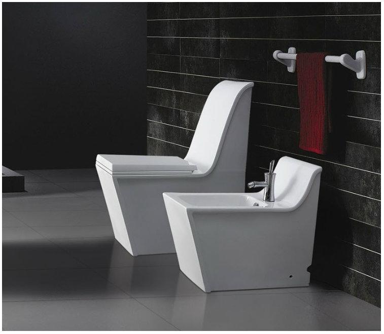 the interior gallery adds bidet designs to match their modern bathroom toilet range. Black Bedroom Furniture Sets. Home Design Ideas