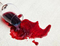 Stains like a spilled glass of wine don't have to ruin your holiday.