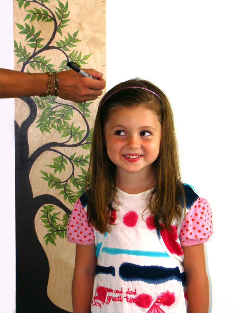 Growth chart art debuts new lines of designer childrens growth charts skyler and her tree of life growth chart nvjuhfo Gallery