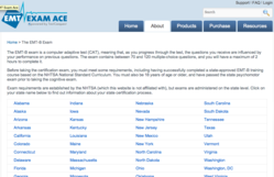 EMT Exam Ace offers 50 states resources