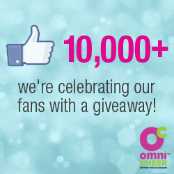 Omni Cheer announces milestone 10,000 Facebook fan mark