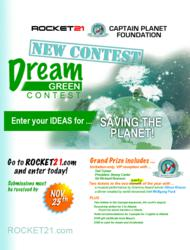 Rocket21 and Captain Planet Dream Green Contest