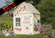 Little Cottage Company - Wooden Sweetbriar Cottage Outdoor Playhouse