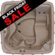 DreamMaker Spas - X-500 Eco Spa Hot Tub in Sandstone