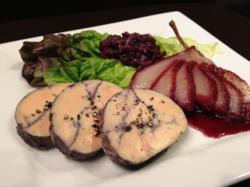 Foie gras Recipes: Red Wine Poached Foie Gras Torchon
