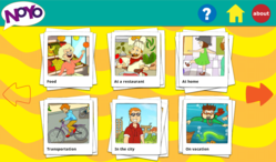 Noyo Spanish Flash Card app