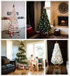 The Jubiltree Wooden Tree can be decorated in many different styles, to create a look that is traditional or unique.