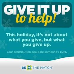 Be The Match Give It Up To Help