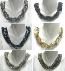 Necklaces with stunning designs.