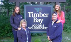 Rykken Family of Timber Bay Lodge & Houseboat
