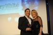 BerryWhite CEO Andrew Jennings receiving Step Up Award from Molly Bedingfield