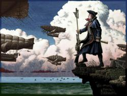George Washington leads as airships battle steam tanks in Steam Patriots