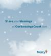Mercy takes the commercialness out of the holidays.