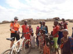 Kenya bike safari