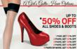Lover's Lane Offers Up To 50% Off Sexy Shoes, And Exclusive Deals...