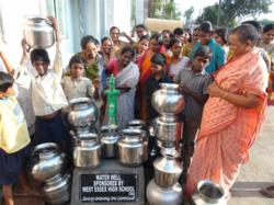 new water well for Indian village