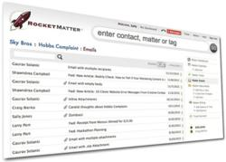 Rocket Matter Added E-Mail Integration to its Law Practice Management Software