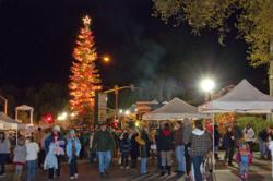 Photo by Nancy Robbins This year's annual Oakhurst Christmas Tree Lighting will take place Dec 1