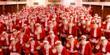 Ever wonder what 250 Santas might look like?