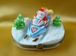 Santa Snow Mobile