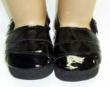 American Girl Doll Black Clogs