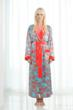 SoffiaB Coral Waters Luxurious Robes and Dressing Gowns