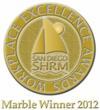 Marble Winner Medallion
