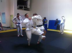 Baltimore MMA Gym, Crazy 88, hosts Judo Black Belt Nick Delpopolo.