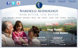 hearing aids in Clarksburg WV - Nardelli Audiology new website