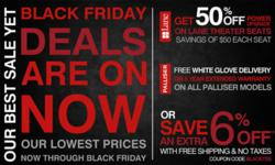 TheaterSeatStore.com Black Friday Promotion - Full Ad