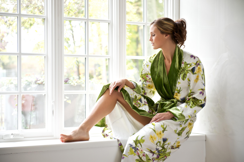 New British Designer Creates Dressing Gown Dreams