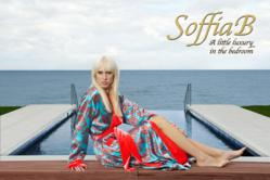 SoffiaB Coral Waters Luxury Robe