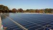 Beaumont Solar Company's team completing solar rooftop project at Mass Premier Courts.
