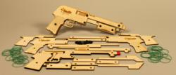 """The Sheriff"" Rubber Band Shotgun Kit"