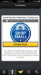 Glyder Template for Small Business Saturday