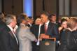 Kamahl meets President Obama and Prime Minister Julia Gillard.