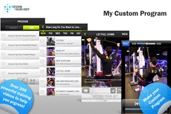 exercise, fitness, iphone, android, personalized, personal trainer, instructional videos