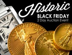 Luxury Watches, Gold Coins & Antiques featured in Black Friday Auction