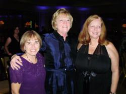 Mary Washington Hospital Nurses Edna Kay Donals and Cindy Hearell are honored as Nurses of the Year at March of Dimes Gala