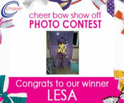 Chassé® Announces Cheer Bow Show Off Contest Winner